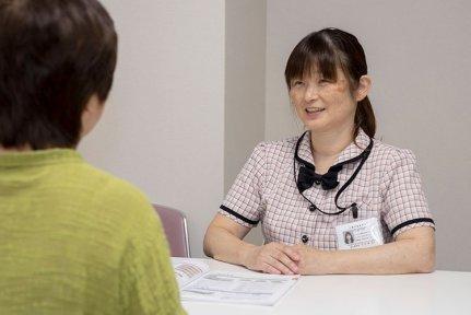 介護の相談や入院申込み受付を行う「くるみ介護センター」